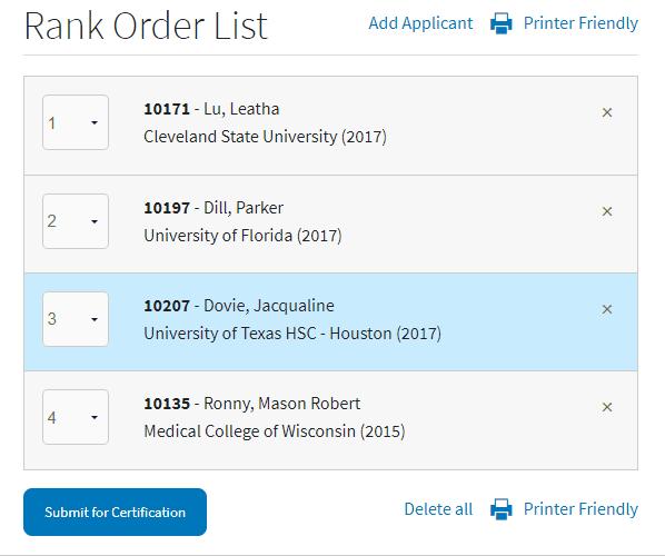 reorder rank order list